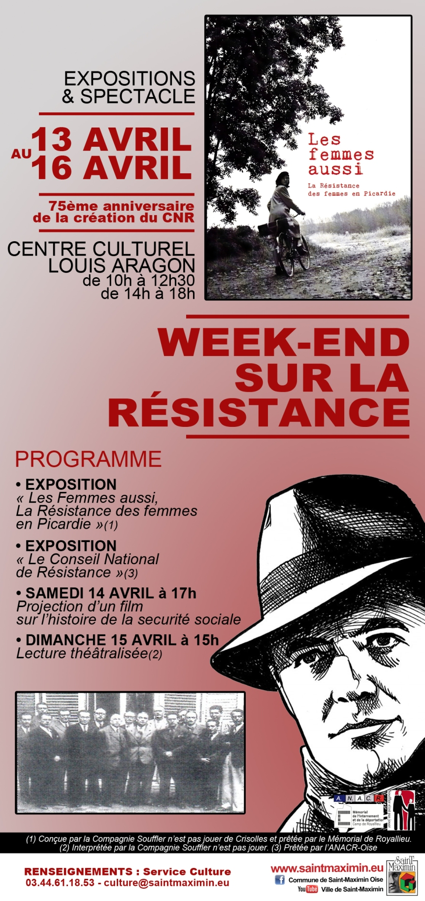 SAINT MAXIMIN Flyer programme WEEK-END Résistance last version