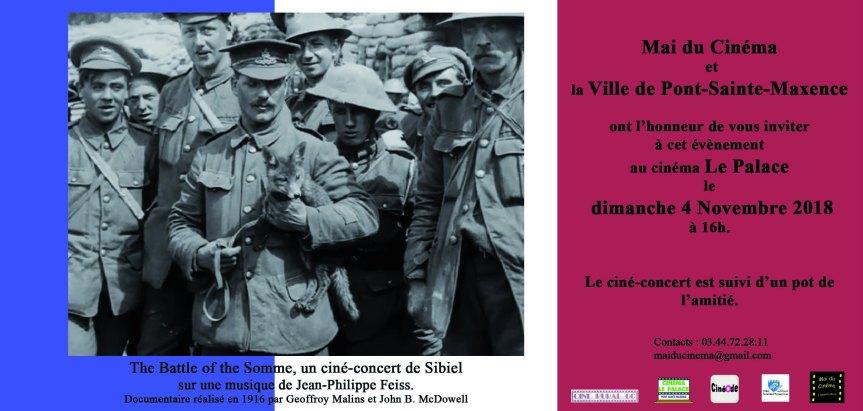 Invitation the battle of the somme dernière retouche