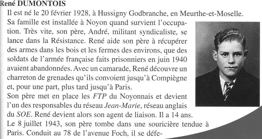 DUMONTOIS René Page N°1-R