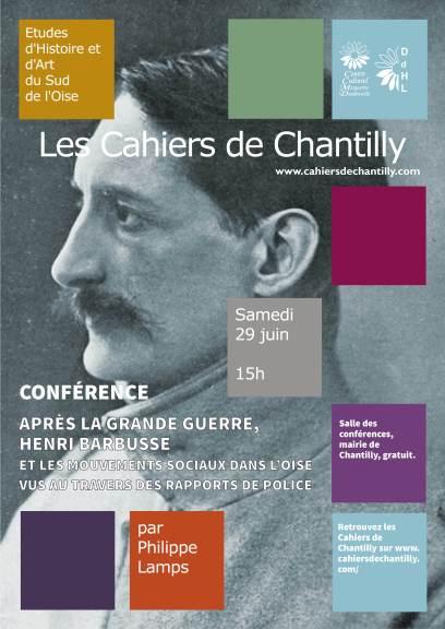 conférences BARBUSSE par Philippe LAMPS 29 juin 2019