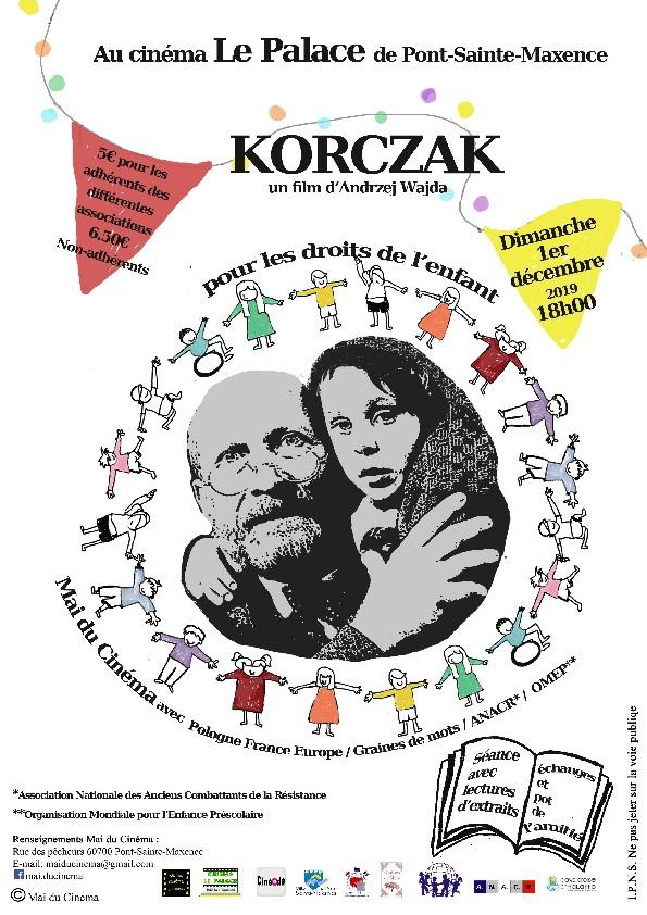 afficheKORCZAK-1erdec2019PontSteMaxence